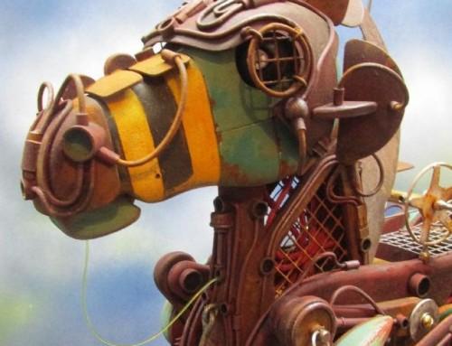 Exploratorium Dieselpunk Pegasus Automata