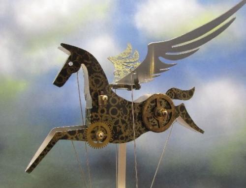Steampunk Pegasus.